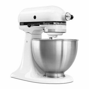 KitchenAid KSM75WH Classic Plus 4.5 qt. Stand Mixer - White - Sears
