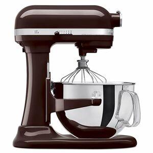 KitchenAid KP26M1XES 6-Qt 575-Watt Pro 600 Series Stand Mixer Espresso, Brown