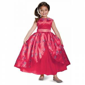 Disney Elena of Avalor Ball Gown Deluxe Child Costume, Size: Small