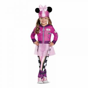 Disney Disguise Minnie Roadster Classic Toddler Costume, Size: 3T-4T