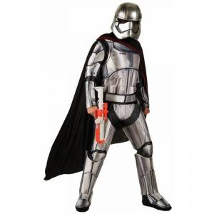 Star Wars Episode VII - Womens Captain Phasma Deluxe Costume, Size: One Size