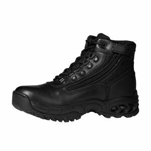 """Ridge Footwear """"Ridge Footwear Men's 6"""" Air-Tac Leather Steel Toe Work Boot 8003ST Wide Width Available - Black, Size: 7.5"""""""