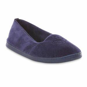 Dearfoams Women's Slipper - Blue, Size: Small