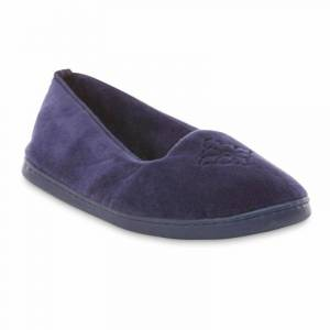 Dearfoams Women's Slipper - Blue, Size: Small