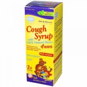STANDARD HOMEOPATHIC COMPANY Homeopathic Cough Syrup With Honey 4 Kids 4 oz