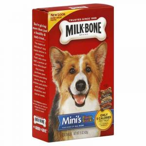 Milk-Bone Mini's Variety Pack Dog Snacks, 15 oz. Box
