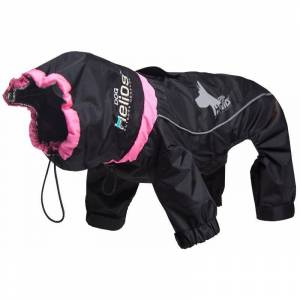Helios Weather-King Ultimate Windproof Full Bodied Pet Jacket, Red