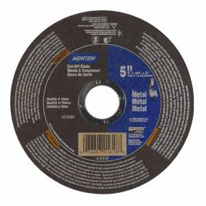 Symantec Norton METAL CUT-OFF BLADE 5 IN METAL, Brown