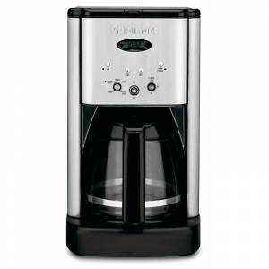 Cuisinart DCC-1200 Brew Central 12-Cup Coffee Maker, Stainless steel/ Stainless steel