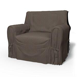 Bemz IKEA - Multi Fit Armchair Cover Large, Taupe, Conscious - Bemz