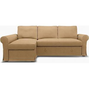 Bemz IKEA - Backabro Sofabed with Chaise Cover, Hemp, Linen - Bemz