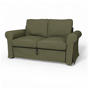 Bemz IKEA - Backabro 2 Seater Sofa Bed Cover, Winter Moss, Corduroy - Bemz