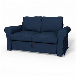 Bemz IKEA - Backabro 2 Seater Sofa Bed Cover, Peacoat, Corduroy - Bemz