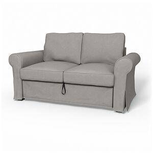 Bemz IKEA - Backabro 2 Seater Sofa Bed Cover, Stone, Velvet - Bemz