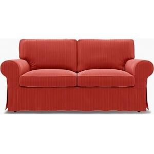 Bemz IKEA - Ektorp 2 Seater Sofa Bed Cover, Brick Red, Corduroy - Bemz