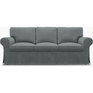 Bemz IKEA - Ektorp 3 Seater Sofa Bed Cover, Denim, Conscious - Bemz