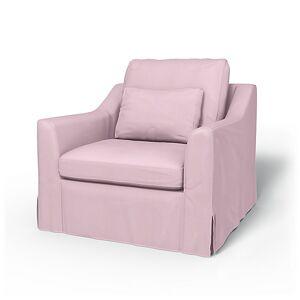 Bemz IKEA - Färlöv Armchair Cover, Pale Rose, Linen - Bemz