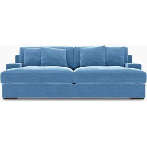 Bemz IKEA - Göteborg 3 Seater Sofa Cover, Pigeon, Velvet - Bemz
