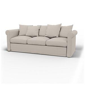 Bemz IKEA - Grönlid 3 Seater Sofa Cover, Chalk, Linen - Bemz