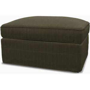 Bemz IKEA - Grönlid Footstool with Storage Cover, Jet Black/Sand Beige, Conscious - Bemz