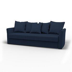 Bemz IKEA - Holmsund Sofabed, Navy Blue, Linen - Bemz