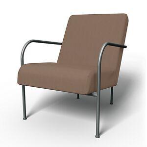 Bemz IKEA - IKEA PS Chair Cover, Sage Brown, Cotton - Bemz