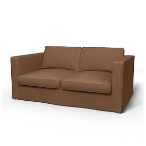 Bemz IKEA - Karlstad 2 Seater Sofa Cover, Bronze, Velvet - Bemz