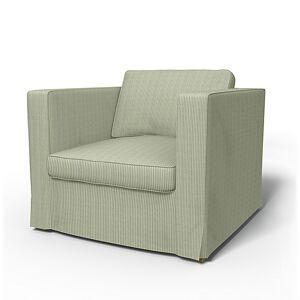 Bemz IKEA - Karlstad Armchair Cover (Large model), Seagrass, Corduroy - Bemz