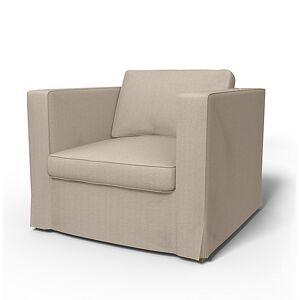 Bemz IKEA - Karlstad Armchair Cover (Large model), Sand Beige, Conscious - Bemz