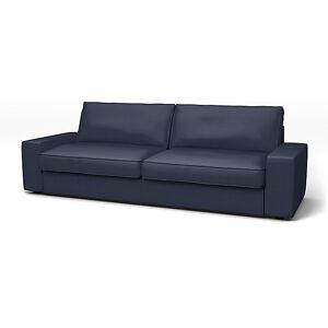 Bemz IKEA - Kivik Sofa Bed Cover, Indigo, Velvet - Bemz