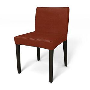 Bemz IKEA - Nils Dining Chair Cover, Rust, Velvet - Bemz