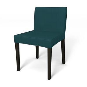 Bemz IKEA - Nils Dining Chair Cover, Teal Blue, Cotton - Bemz