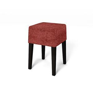Bemz IKEA - Nils Stool Cover, Garnet, Velvet - Bemz