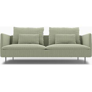 Bemz IKEA - Söderhamn Sofa Bed Cover, Seagrass, Corduroy - Bemz