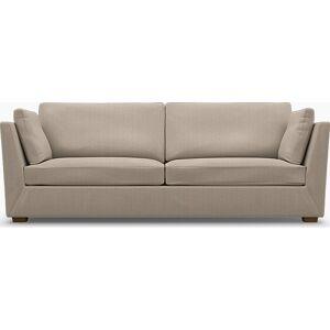 Bemz IKEA - Stockholm 3.5 Seater Sofa Cover, Sand Beige, Conscious - Bemz