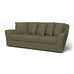 Bemz IKEA - Tomelilla 3 seater sofa, Winter Moss, Corduroy - Bemz