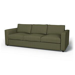 Bemz IKEA - Vimle 3 Seater Sofa Cover, Winter Moss, Corduroy - Bemz