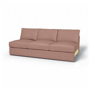 Bemz IKEA - Vimle 3 Seat Section Cover, Dusty Pink, Velvet - Bemz