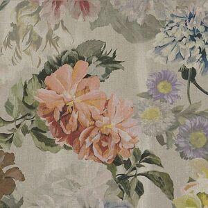 Bemz IKEA - Karlstad Sofa Bed Cover, Delft Flower - Tuberose, Linen - Bemz