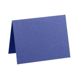 """LUX Folded Cards, A2, 4 1/4"""" x 5 1/2"""", Boardwalk Blue, Pack Of 500"""