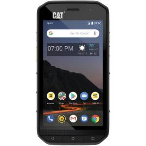 CAT S48C Rugged Smartphone, Black, CS48SABNAMUNOD