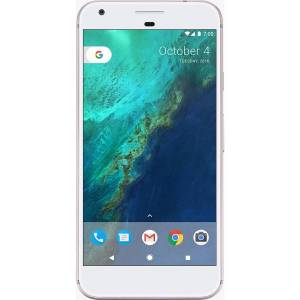 Google Pixel XL Cell Phone, Very Silver, PGN100022