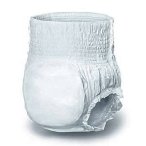 "Protection Plus Classic Protective Underwear, Medium, 28 - 40"", White, Bag Of 20"