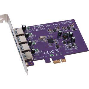 Sonnet ALLEGRO USB 3.0 PCIe (4 ports) - PCI Express - Plug-in Card - 4 USB Port(s) - 4 USB 3.0 Port(s)