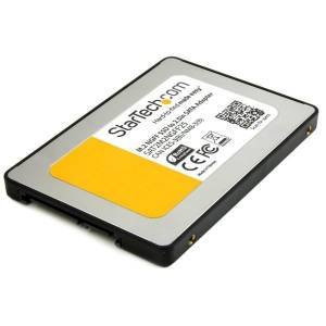 StarTech.com M.2 (NGFF) SSD to 2.5in SATA III Adapter - Up to 6 Gbps - M.2 SSD Converter to SATA with Protective Housing (SAT2M2NGFF25) - Storage cont