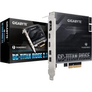 GBT INC. Gigabyte GC-TITAN RIDGE (rev. 2.0) - Thunderbolt adapter - PCIe 3.0 x4 - Thunderbolt 3 / USB-C 3.2 Gen 2 x 2