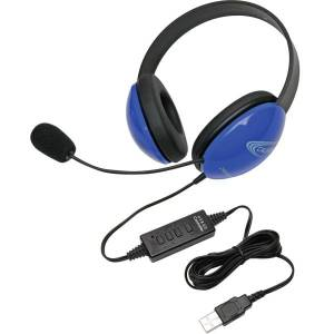Califone Listening First Series USB Over-The-Head Stereo Headphones