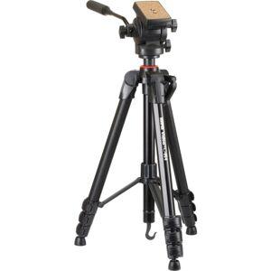 "Sunpak Video PRO-M 4 Tripod - 23.10"" to 65"" Height - 11 lb Load Capacity"