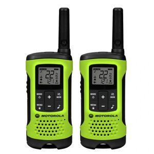 Motorola TalkAbout T605 Waterproof Two-Way Radios, Green/Black, Pack Of 2 Radios