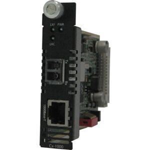 Perle C-1000-M2LC05 Gigabit Ethernet Media Converter Module - 1 x Network (RJ-45) - 1 x LC Ports - 10/100/1000Base-T, 1000Base-SX - Internal